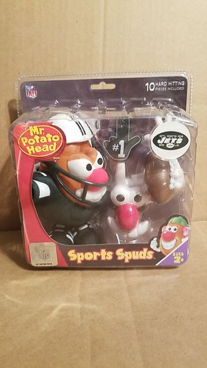 NY JETS MR POTATO HEAD NEW 2008 COLLECTIBLE TOY for Sale in Old Bridge Township, NJ
