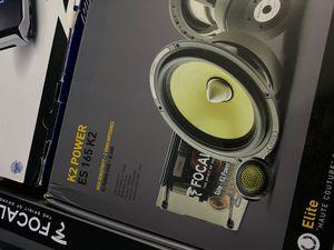 Focal k2 speakers for Sale in San Gabriel, CA
