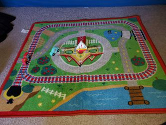 Kids Mat,puzzle and wooden blocks for Sale in Bloomington,  IL
