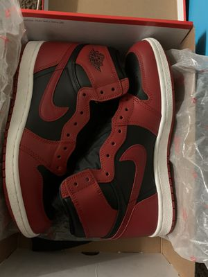 Jordan 1 high 85 bred 600$ size 11 DS 100% authentic for Sale in Orlando, FL