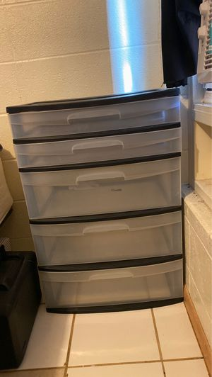 Plastic drawers for Sale in Waianae, HI