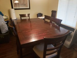 6 seat oub height table for Sale in Phoenix, AZ