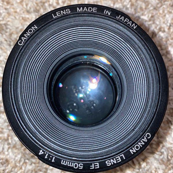 Canon EF 50mm f/1.4 USM Autofocus Lens 2515A003