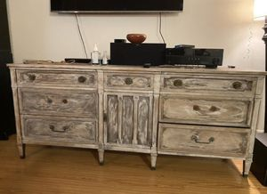 TV Stand, Dresser, Drawers, Cabinet, Wood, Rustic for Sale in Los Angeles, CA