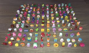 Shopkins seasons 1-8 with christmas, fashion spree, and food fair for Sale in Cornelius, OR
