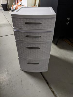 Plastic drawers for Sale in Gilbert, AZ