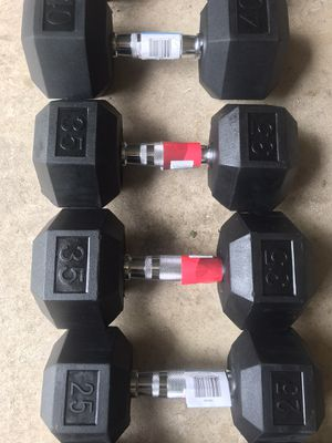 New never used 25s 35s dumbbells for Sale in Centreville, VA