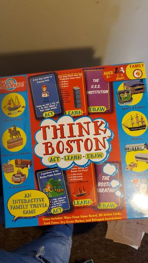 Boston board game and puzzle for Sale in Lowell, MA