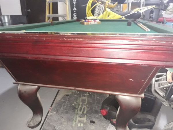 Pool table, good condition, comes with everything,