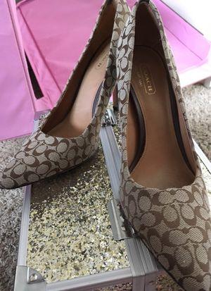 Coach heels size 8 for Sale in Bluffdale, UT