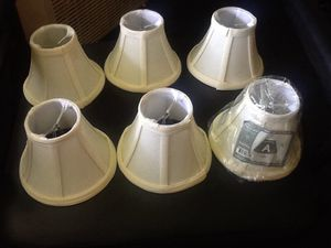 6 Chandelier Shades by Dolan Design Treads for Sale in Columbus, OH
