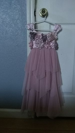 Flower girl dress size 6 for Sale in Hayward, CA