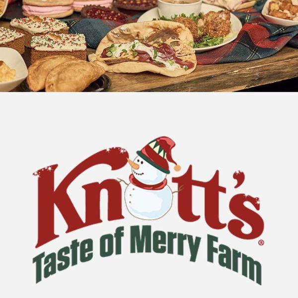Taste Of Knott's Merry Farm Dec 4