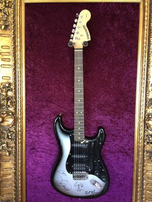 Metallica Band Signed Autographed Fender Guitar for Sale in Orlando, FL