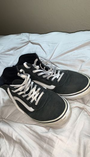 Black and White high top Vans for Sale in Lakewood, CO