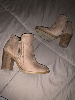 Brown High Heeled Booties for Sale in Ontario, CA