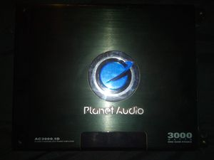 Planet audio amp for Sale in Highlands, TX