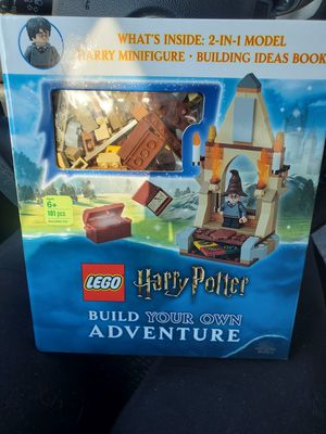 Brand New Harry Potter Build your own Adventure book and Lego set for Sale in Turlock, CA