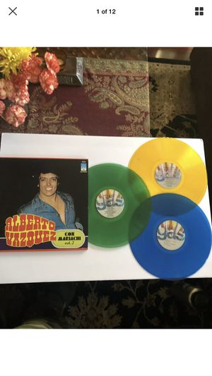 ALBERTO VAZQUEZ Con Mariachi Vol.2 3-LP Box Set Color Vinyl for Sale in Upland, CA