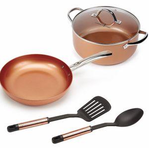 Copper Chef Casserole 5 Piece Set for Sale in Houston, TX