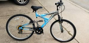 Adult bikes Kids bikes Cycle Force Group Dual Suspension Mountain Bike, 26 in wheels, 18 speed, Men's Bike for Sale in Pflugerville, TX