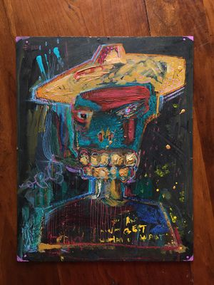 mixed media painting for Sale in Eugene, OR