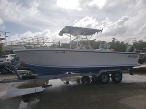 24ft Center Console Open Fisherman with 250 Evinrude!!! for Sale in Miami, FL