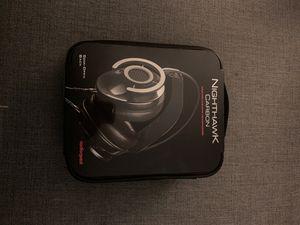 AudioQuest Nighthawk Carbon Around-the-Ear Semi-Open Black Headphones for Sale in Denver, CO