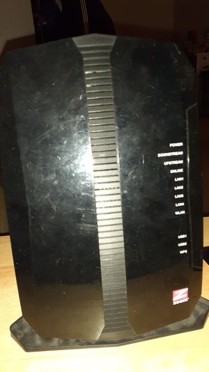 Zoom cable modem with wifi for Sale in Willowbrook, IL