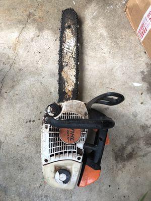 Stihl chainsaw ms 201 for Sale in Castro Valley, CA