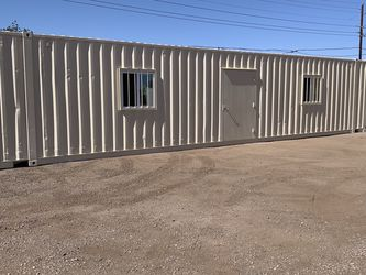 Used 45ft Shipping Container With Paint, Doors, And Windows for Sale in Phoenix,  AZ