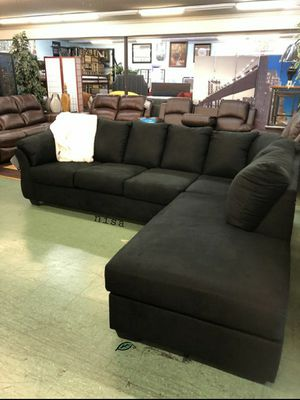 ➡️$39 Down 🍺No İNTEREST      SPECIAL] Darcy Black LAF Sectional 146 for Sale in Elkridge, MD