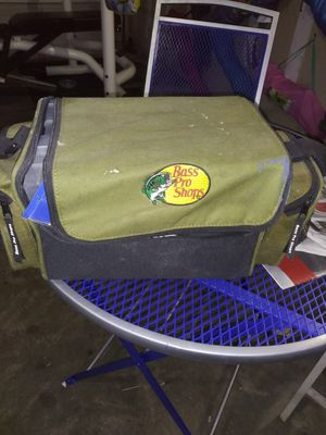 Fishing tackle box containers and supplies for Sale in Mesquite, TX