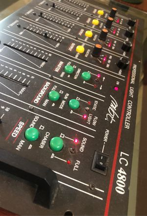 DJ equipment LC 4800 Professional light and sound controlling station for Sale in Evans, CO