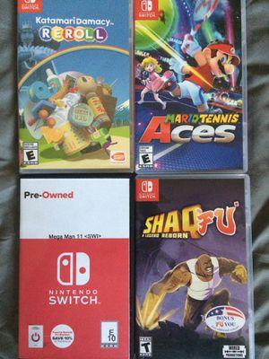 Nintendo switch games lot for Sale in Chula Vista, CA