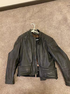 First gear genuine leather motorcycle jacket for Sale in Phoenix, AZ
