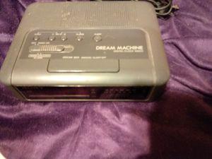 Sony ICF-C240 Dream Machine AM/FM Dual Alarm Digital Clock Radio -Black for Sale, used for sale  Brevard, NC
