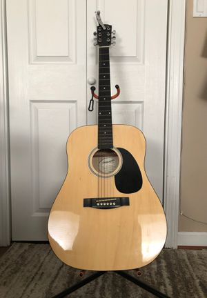 Fender Starcaster Acoustic Guitar w/ Accessories for Sale in Boston, MA
