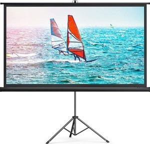 """100 """" Projector Screen with Stand for Sale in Pembroke Pines, FL"""