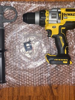 "(1)Dewalt 20v Max Brushless 3- Speed 1/2"" Hammer Drill (DCD999B) for Sale in The Bronx,  NY"