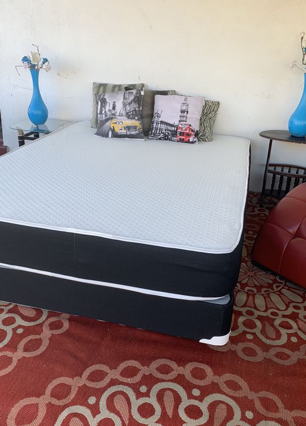 NEW FULL SIDE MATTRESS NEW WITH BOX SPRING