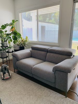 Talin Grey Power Reclining Sofa and love seat W/Usb for Sale in Buena Park, CA