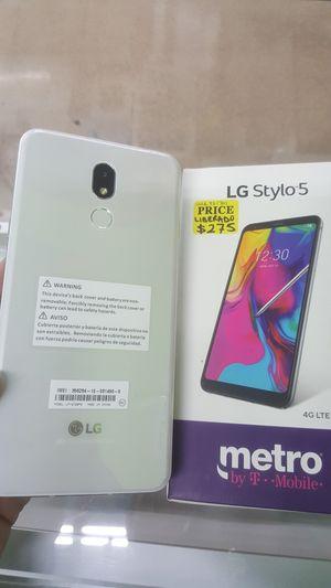 BRAND NEW UNLOCKED LG STYLO 5 IN BOX for Sale in McKinney, TX