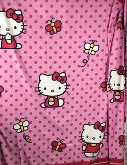 Hello Kitty Fabric Shower Curtain Hopping for Sale in Oregon City,  OR