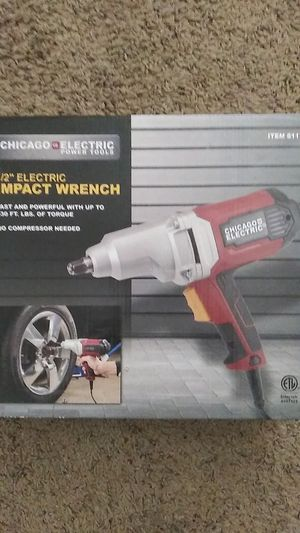 Chicago Electric corded impact wrench for Sale in Austin, TX