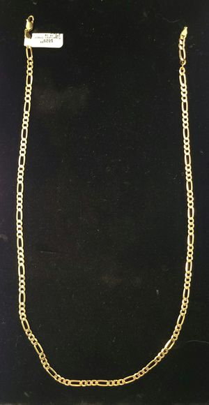14k gold Figaro chain for Sale in North Las Vegas, NV