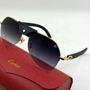 Cartier Sunglasses Black Wood for Sale in Miami, FL