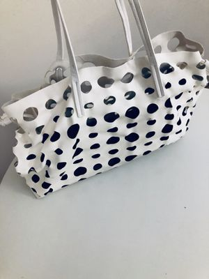 White dotted tote bag for Sale in Washington, DC
