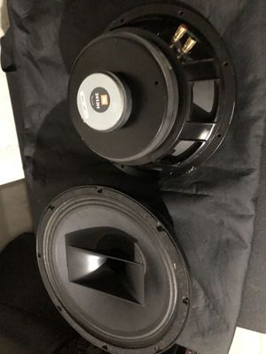 12 inch subwoofers with 2412h drivers for Sale in Phoenix, AZ
