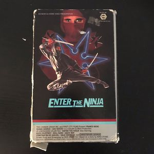 Enter the ninja vhs tape for Sale in San Diego, CA